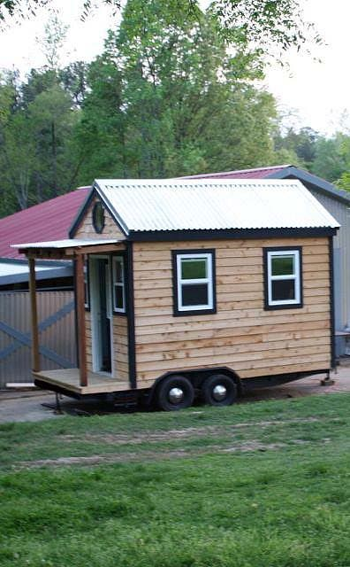 full view of the tiny house