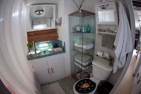 trailer bathroom