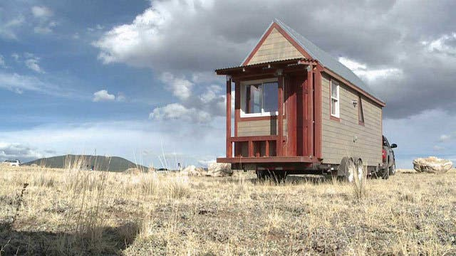 tiny house in Colorado
