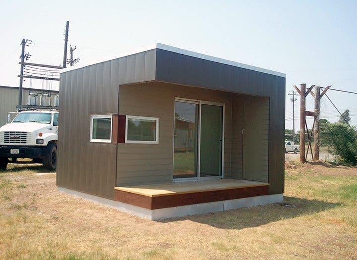 Clearspace modular homes for Simple modern tiny house