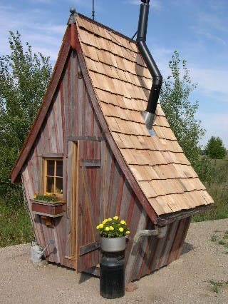Wondrous Ode To The Outhouse Largest Home Design Picture Inspirations Pitcheantrous