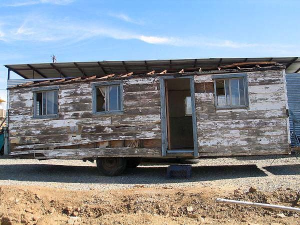 1950s Grapes of Wrath Tiny House Trailer
