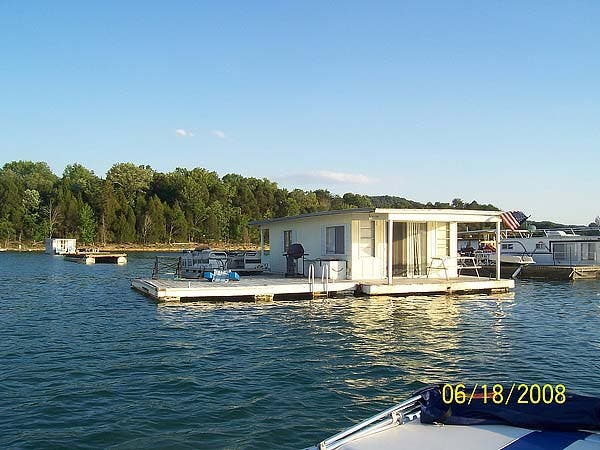 house boat before conversion