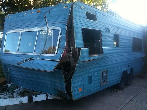 rv trailer base for casita