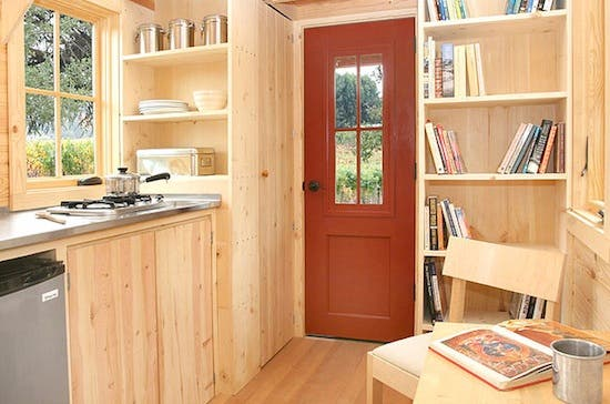 lusby tiny house interior