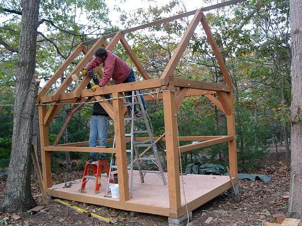 framing the roof