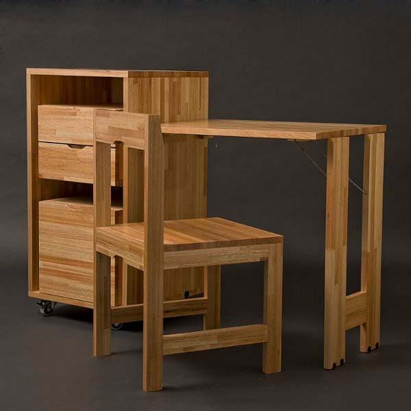 compact desk open