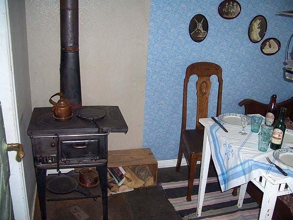 Kolonistuga interior