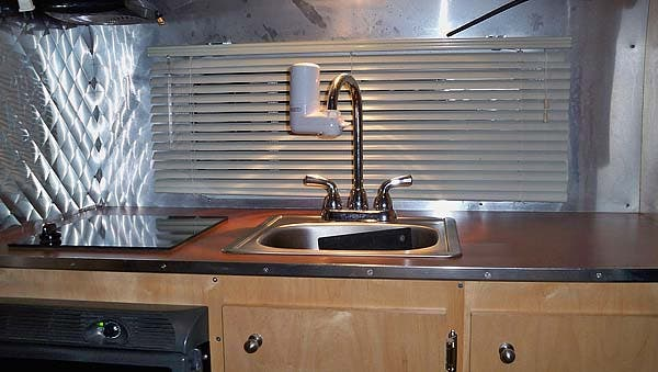 Retro Traveler kitchen