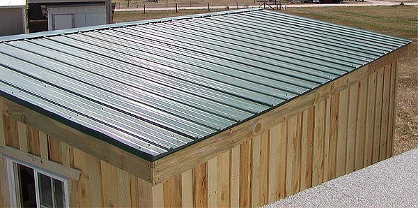 tiny house shed roof