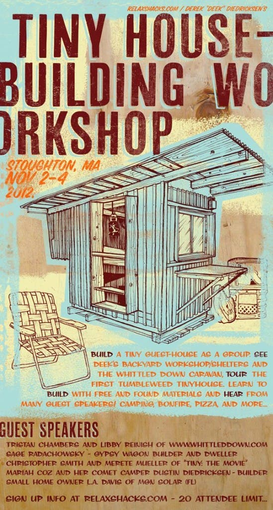 Deek's Tiny House Building Workshop