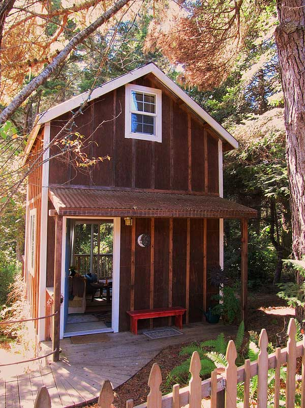 mendocino coast rental - Two Story Tiny House