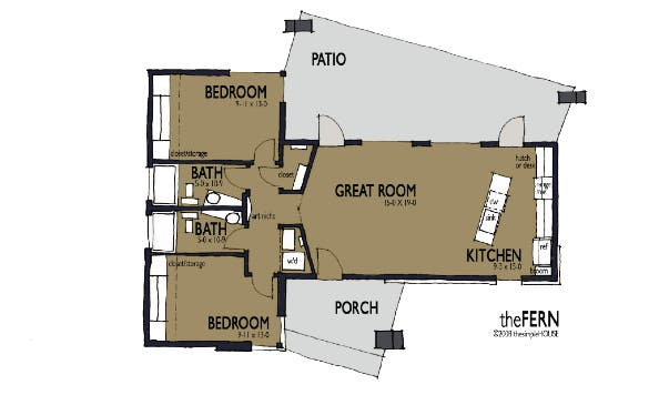 Fern 1 Floorplan