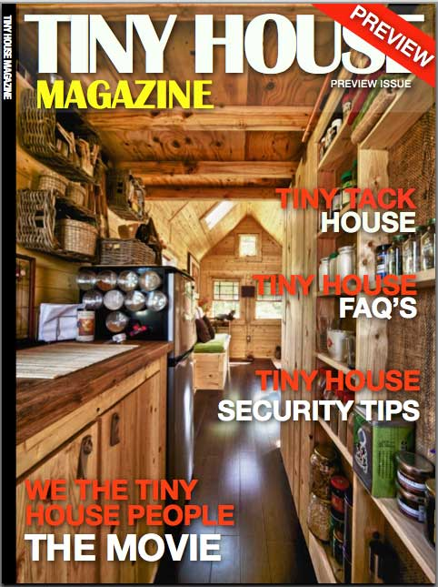 Tiny House Magazine Cover