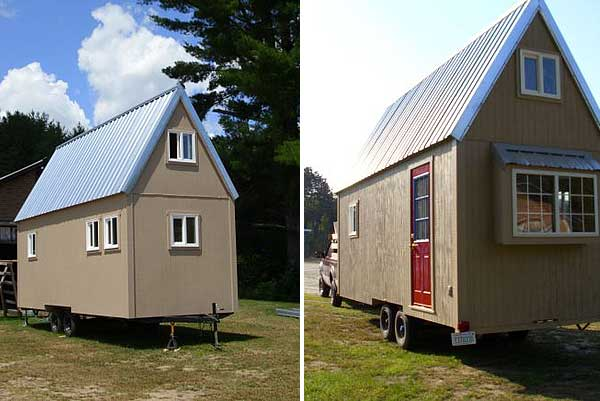 tiny house front and back
