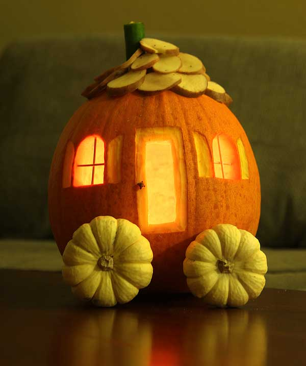 tiny pumpkin house