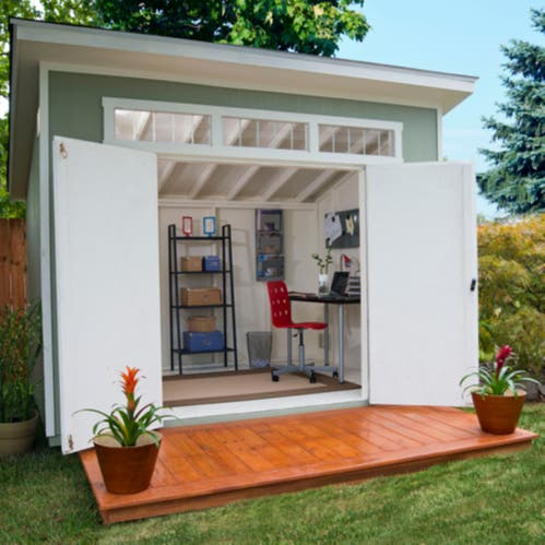 Costco aston shed for Wooden studios for gardens
