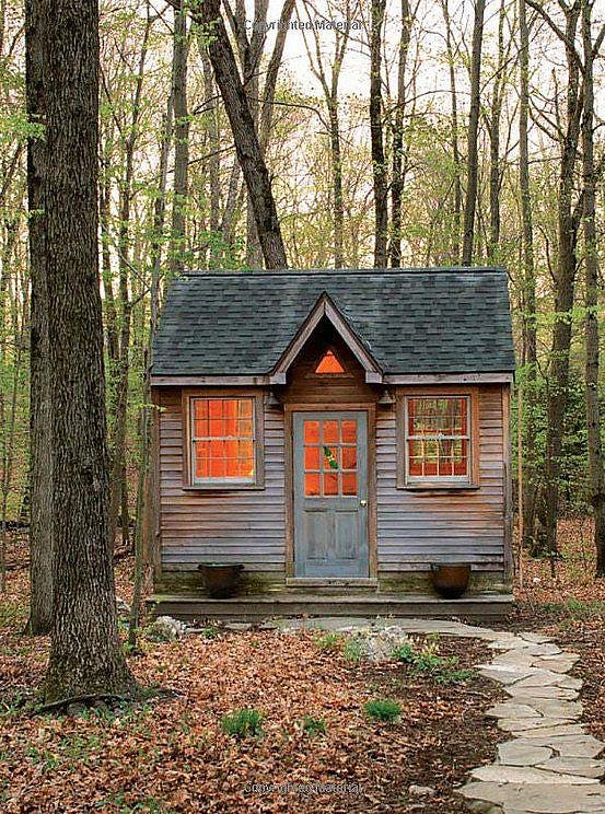 Tiny house in a landscape for Building a small cabin in the woods