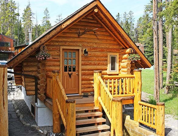 guest cabin entry