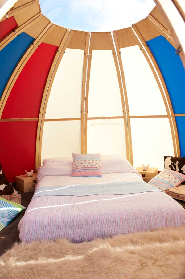 bed and unidome