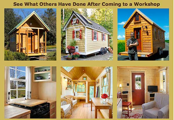 workshop tiny houses