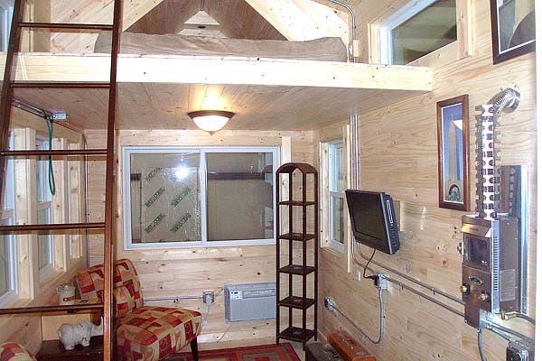loft tiny house