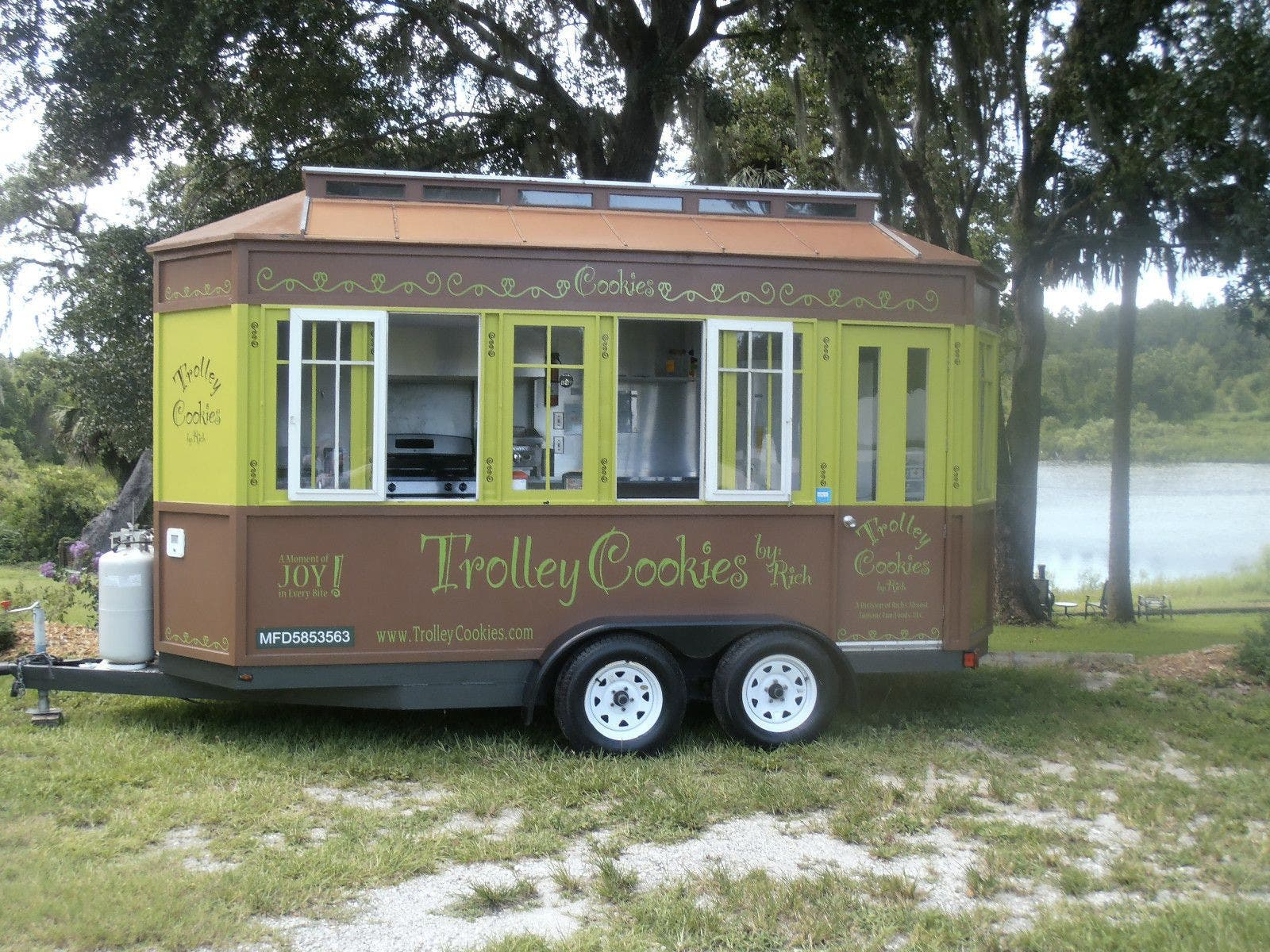Used Campers For Sale >> Concession Trailers as Tiny Houses