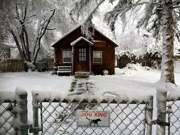 Grant's cabin
