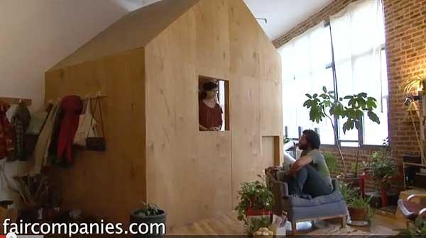indoor cabin