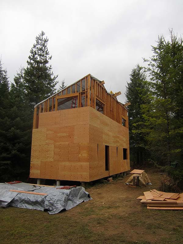 sheathing on