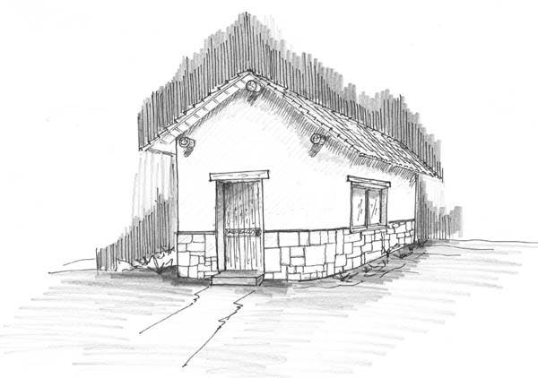 The Freeman Tiny Cob House Plans