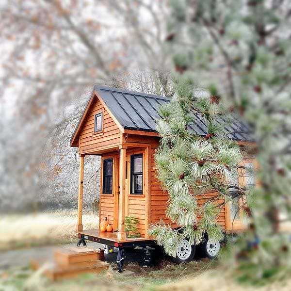 Tammy and Logan's tiny house