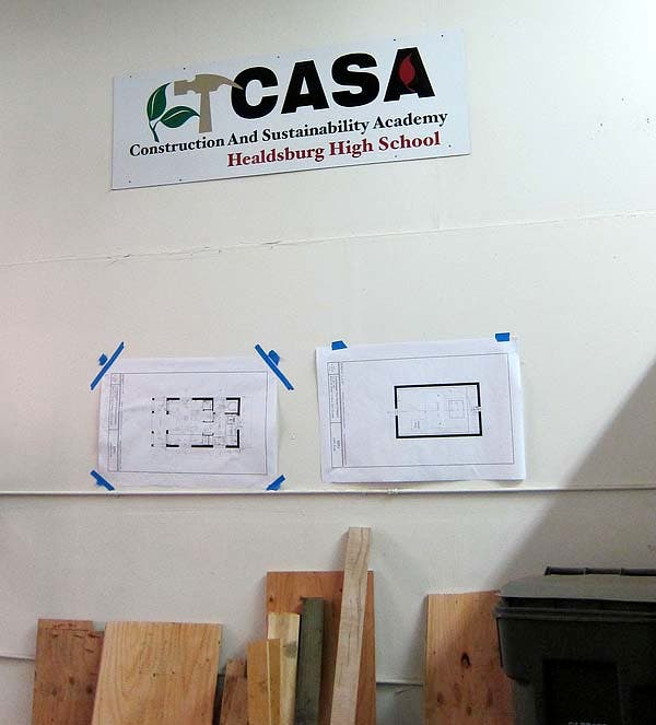 CASA sign and plans