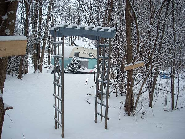 Arch at Snow Camp