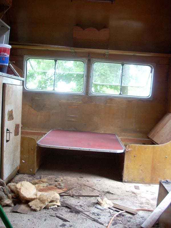 Camper Table Before
