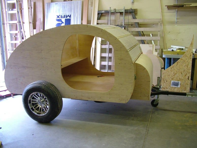 teardrop trailer kit2