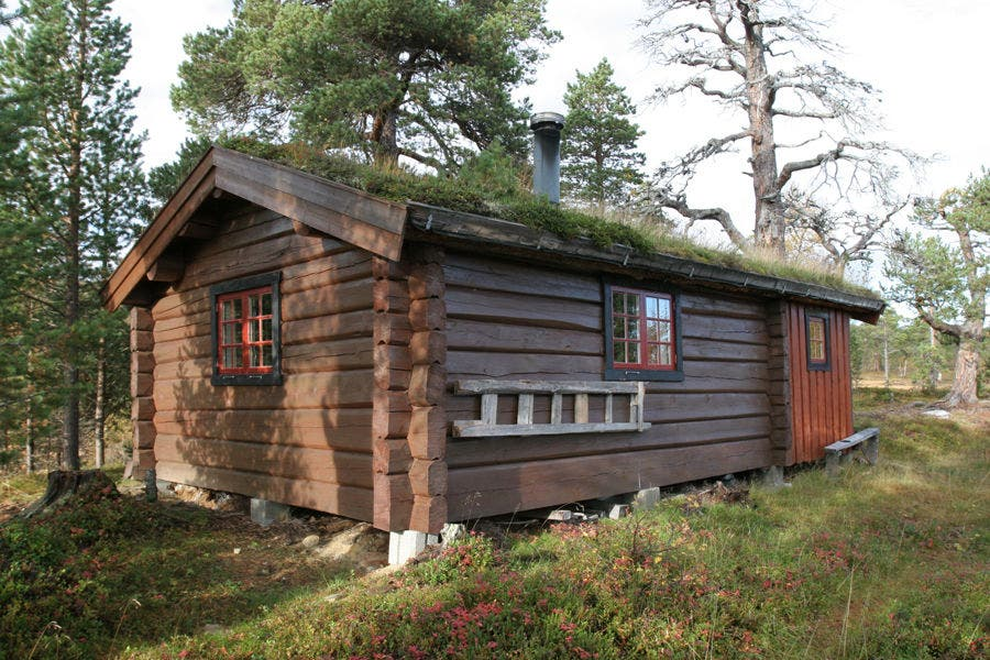 Norwegian koie little cabin for Cabanas madera baratas