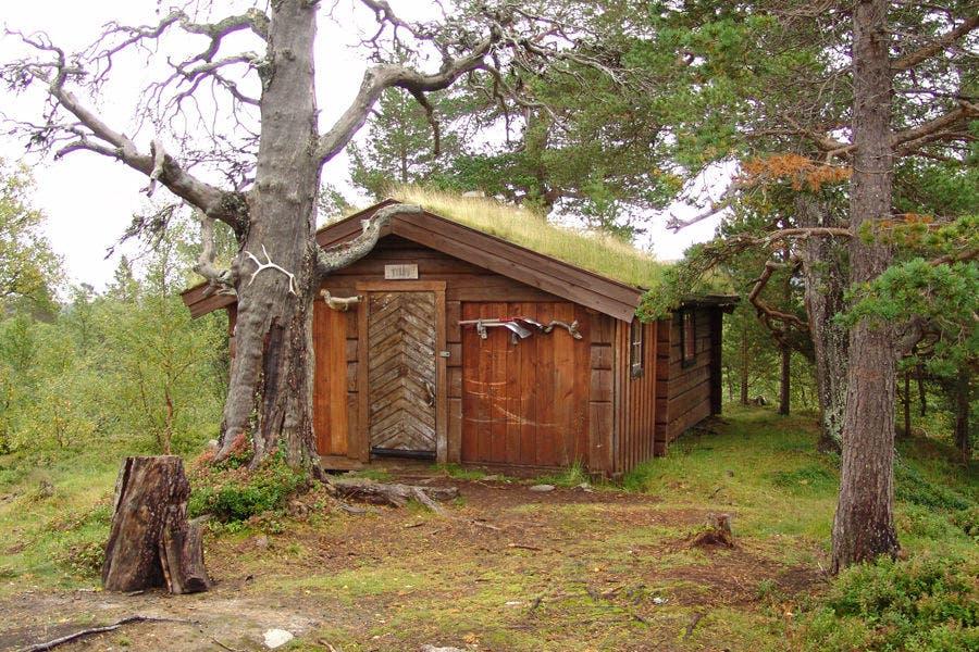 Norwegian Koie Little Cabin