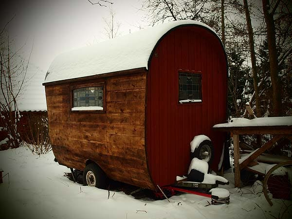 workshop in the snow
