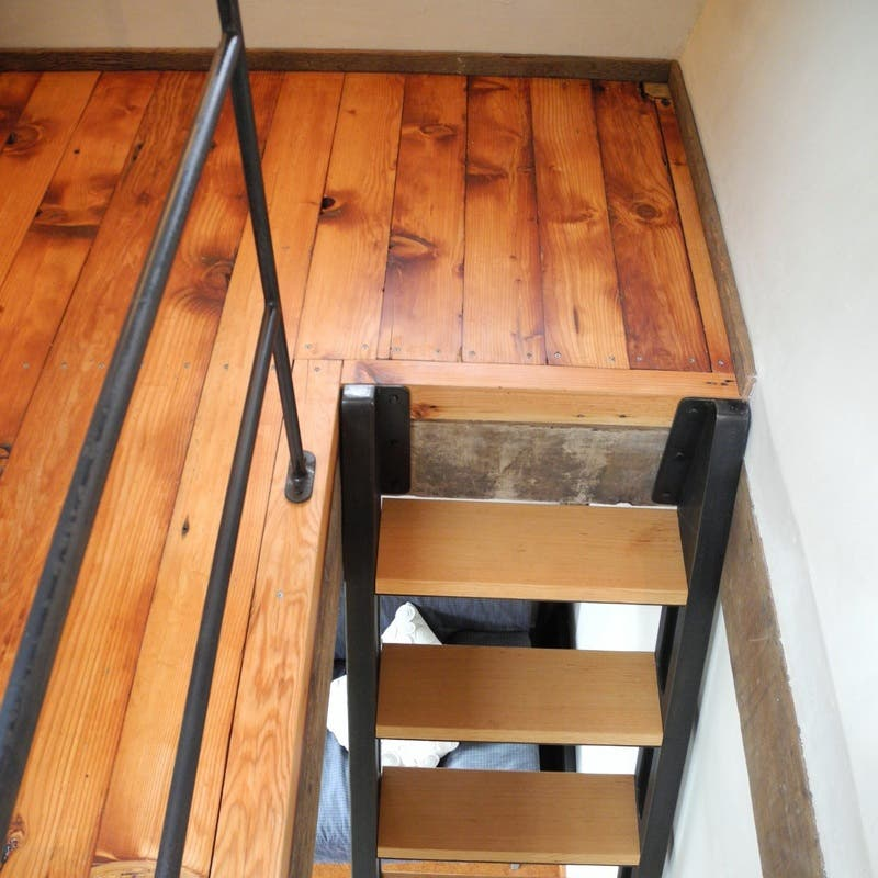 Steps And Ladder Ideas For Tiny Houses: Rise Over Run Backyard House