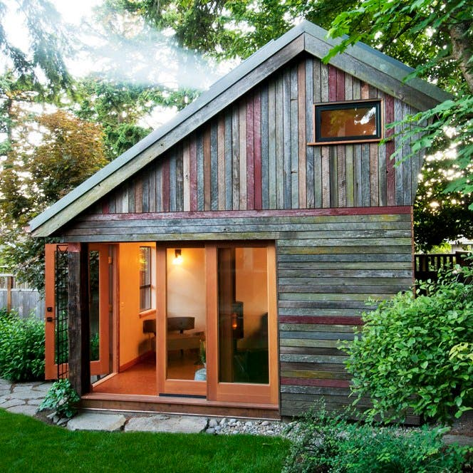 Backyard Barnyard : Rise Over Run Backyard House  Tiny House Blog