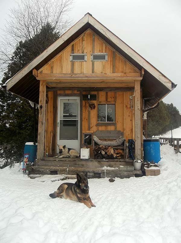 Judith S Pole Barn Cabin