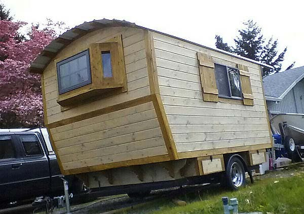 The Little Rustic Cabin on Wheels Tiny House Blog