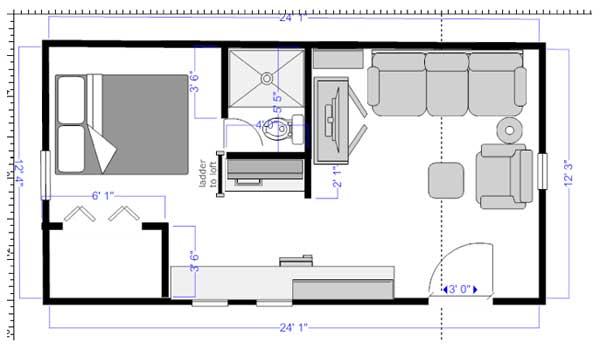 Tiny Homes Designs: Florida Cracker Cabin