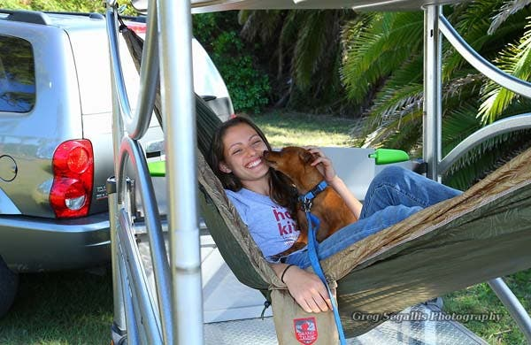 Meghan and her dog