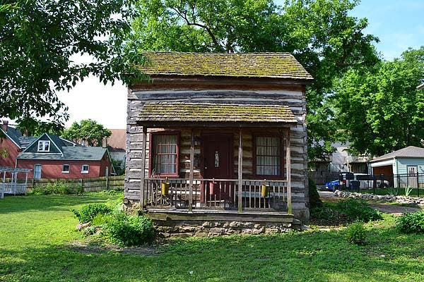 Morgan Street Log Cabin