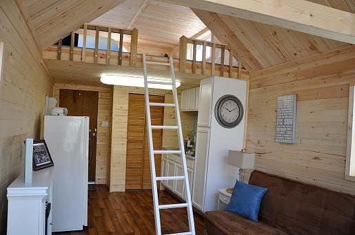 loft in boat house