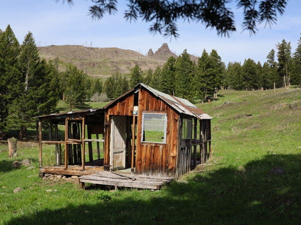 Chimney Rock cabin