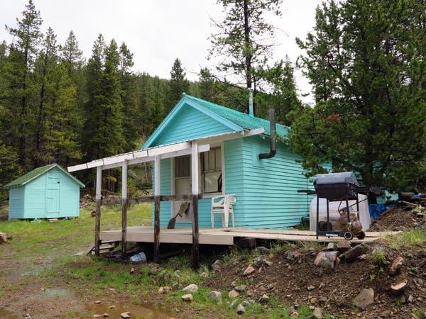 Neihart cabin