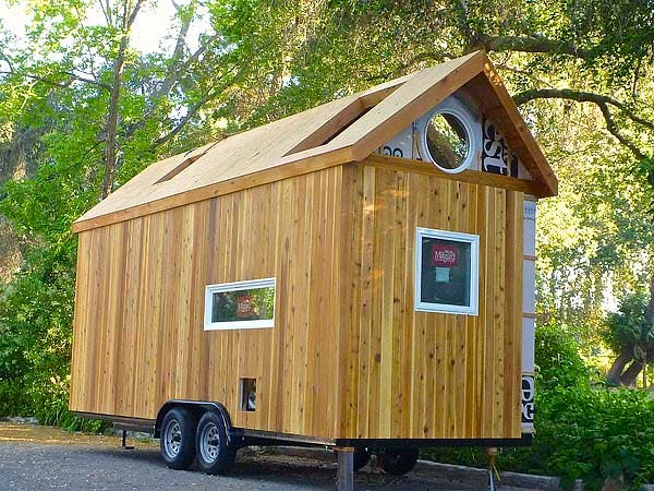 tiny house back side
